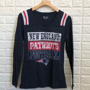 NFL New England patriots long sleeve tee